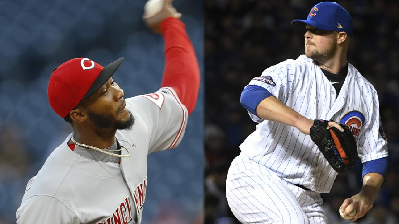 Cubs look to shake off upstart Reds on .TV