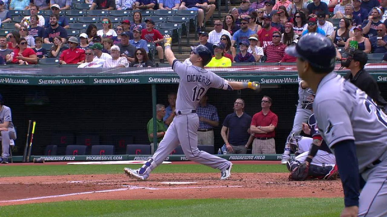 Dickerson's three-run jack