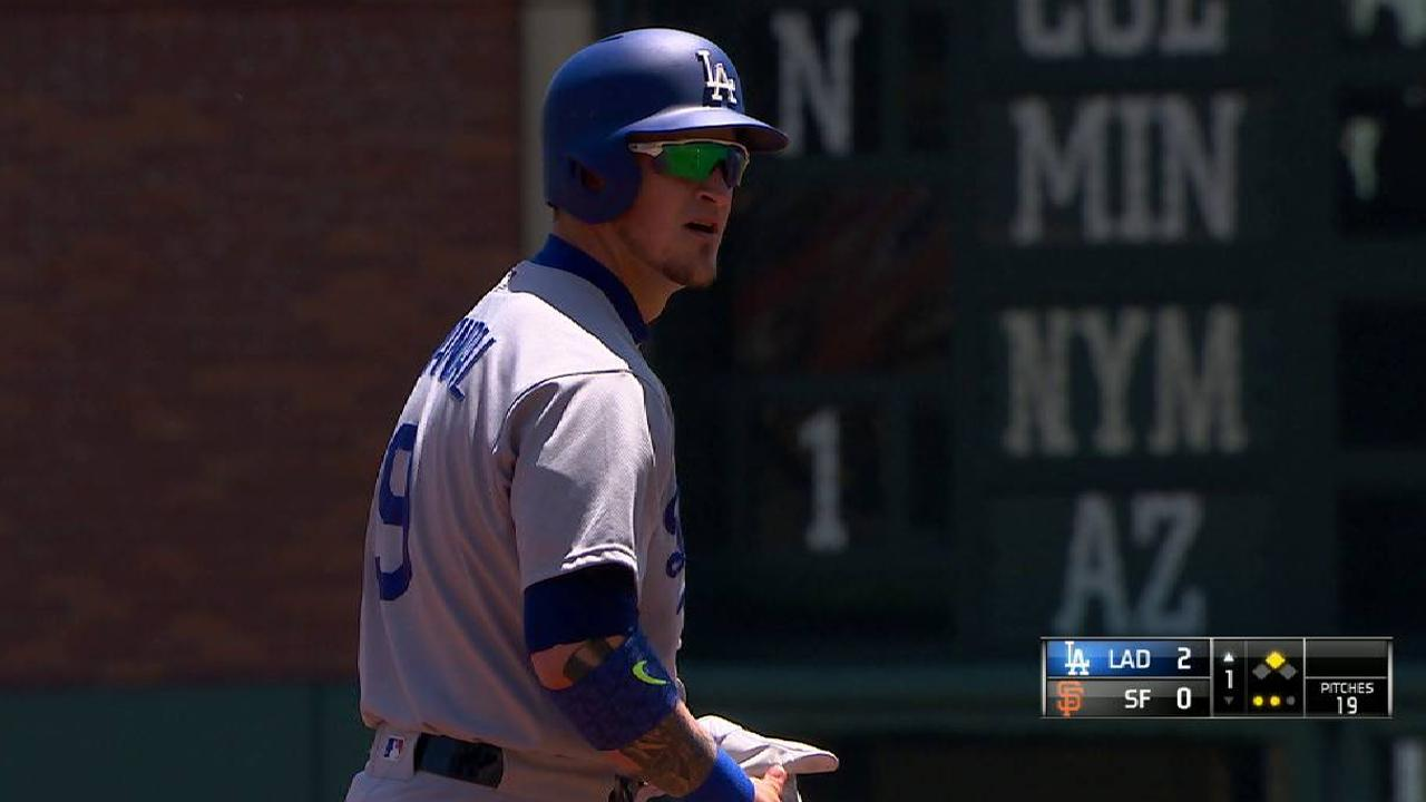 Grandal's two-run double