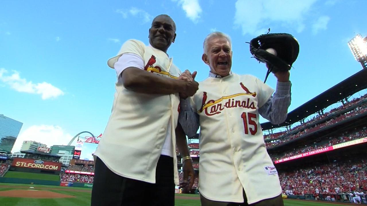 Cardinals celebrate '67 team