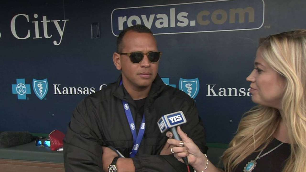 A-Rod joins FS1 team for Yanks-Royals finale