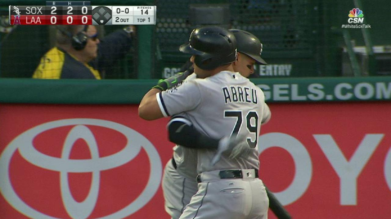White Sox watch Angels pull away in finale