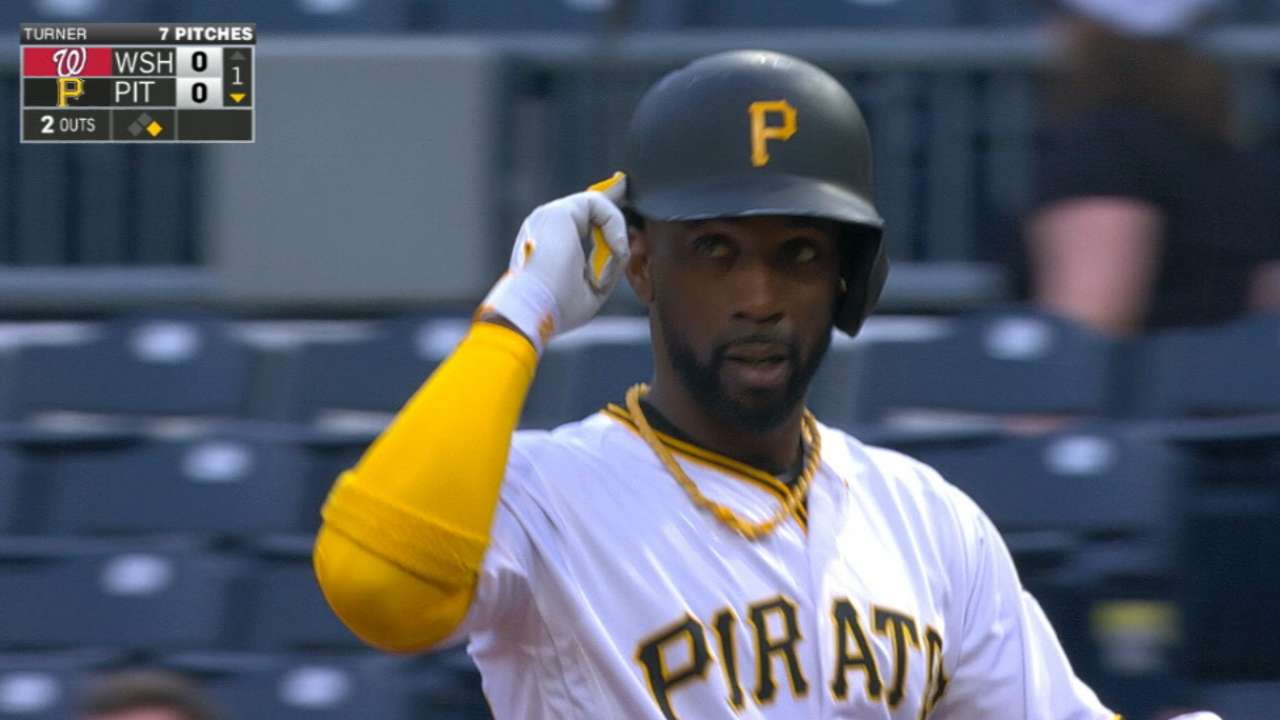 Cutch grabs two hits, stolen bags in big night