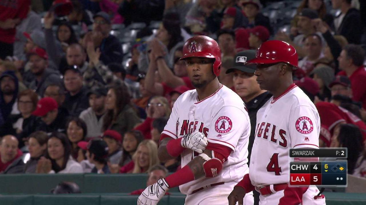 Maldonado's RBI single to left