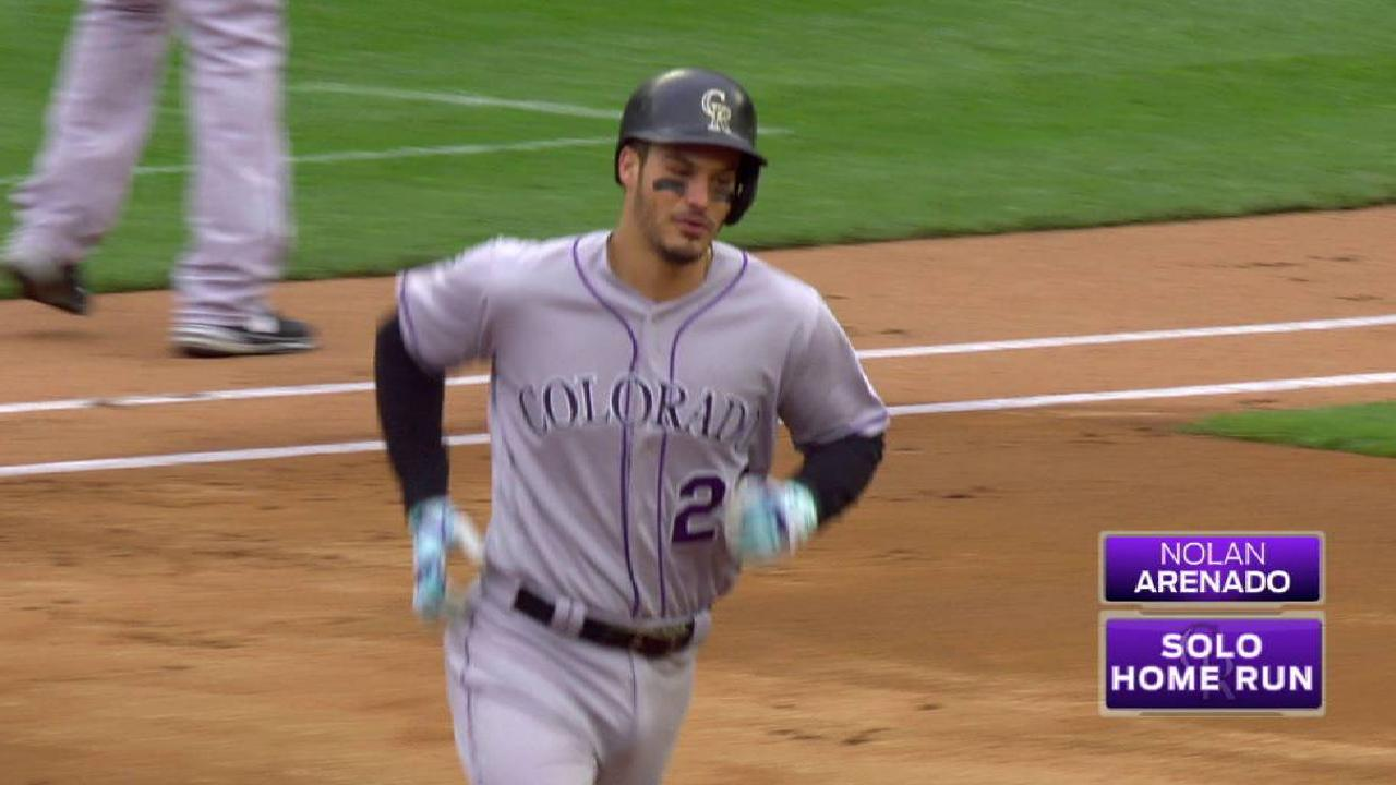 Rox get to Ervin early, open twin bill with win
