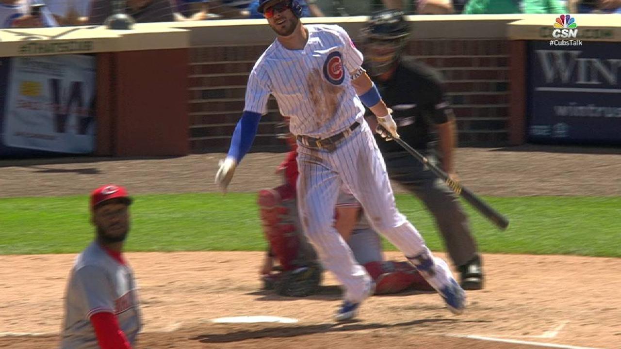 Bryant's solo home run