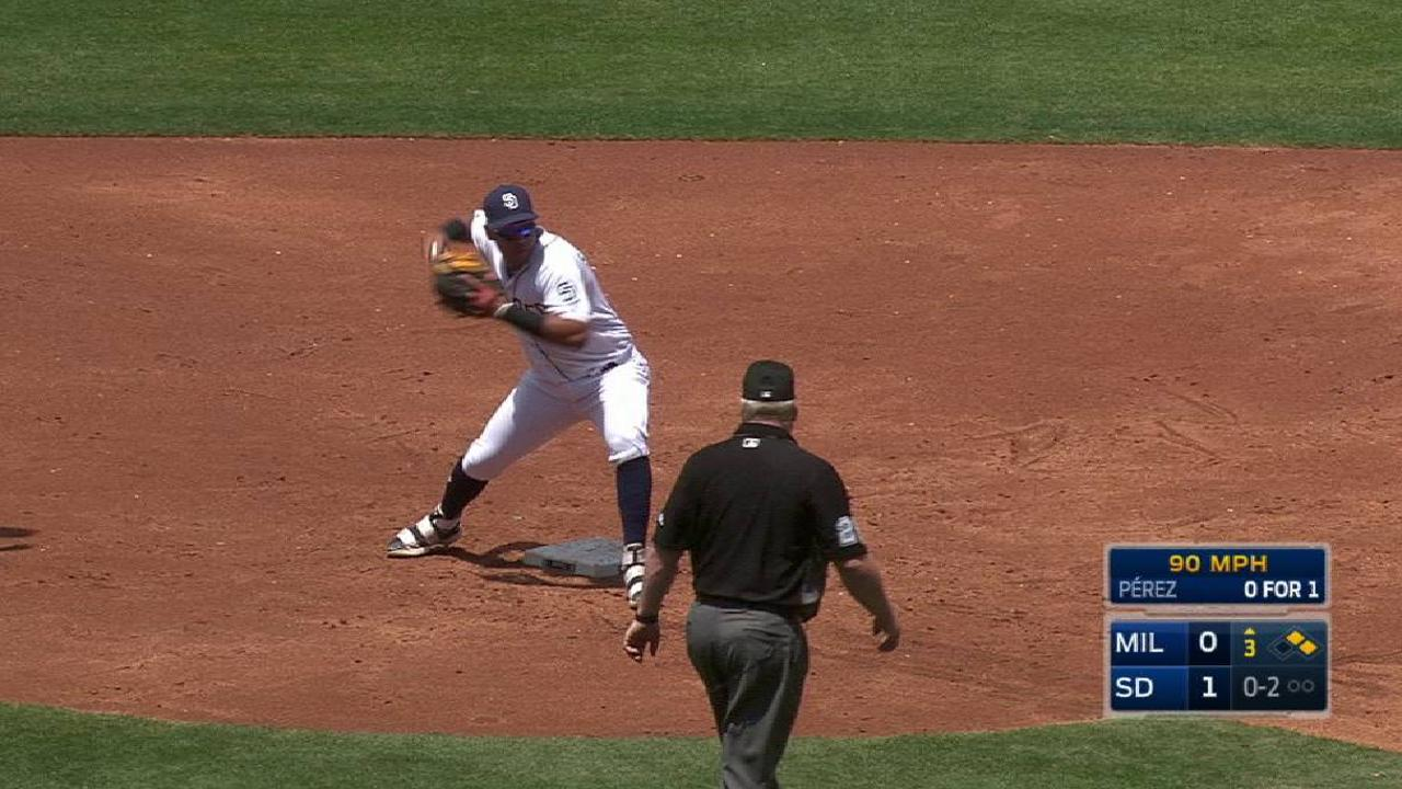 Padres turn two in 3rd