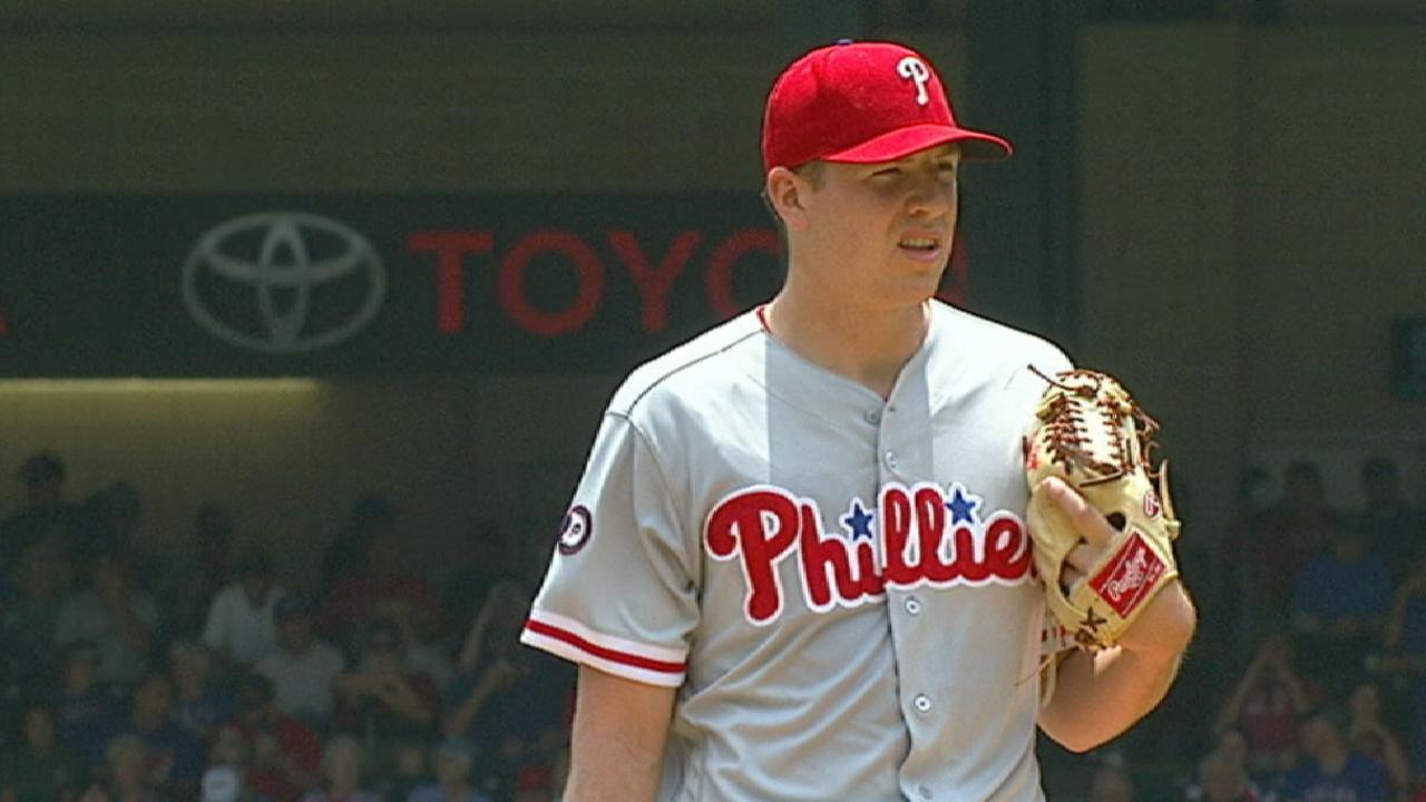 Phils run out of steam with Pivetta in Texas