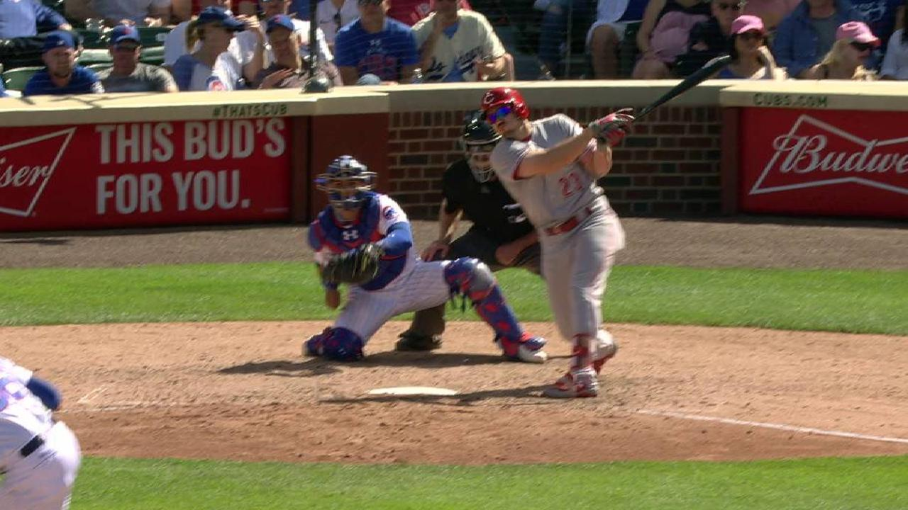 Reds swept by Cubs, losing streak at six