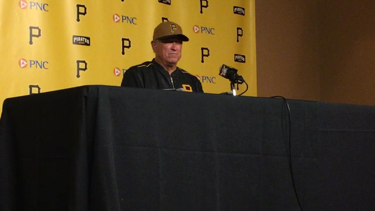 Hurdle on 10-4 win over Nats