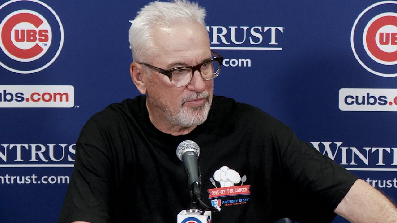 Maddon: 'We just haven't played our game yet'