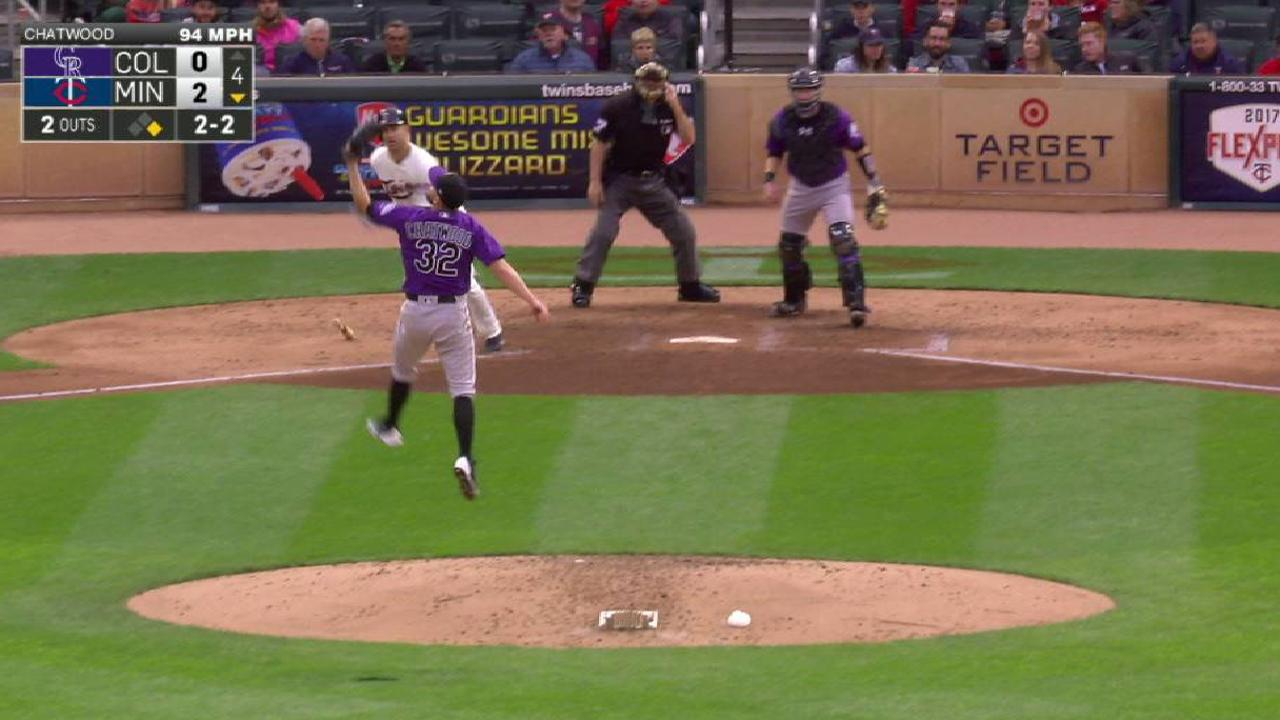 Chatwood solid; Rox can't solve Berrios in loss