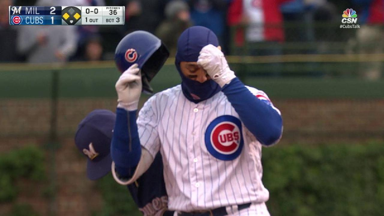 Cubs drop rainy opener despite early runs