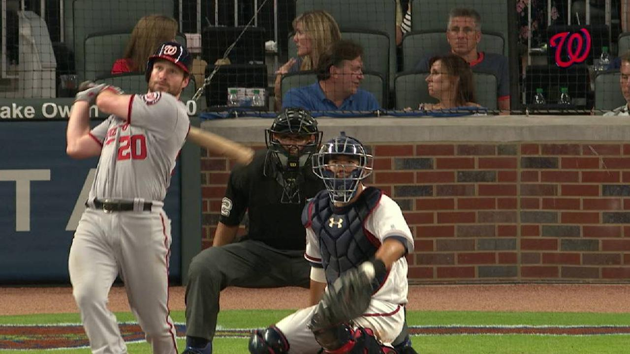 Murphy's homer not enough as Nats falter late