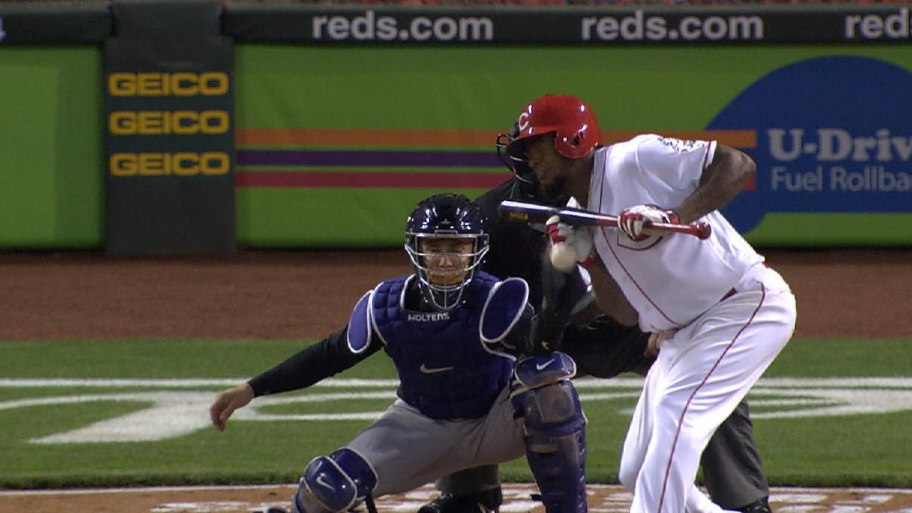 Bonilla runs into trouble after hit-by-pitch