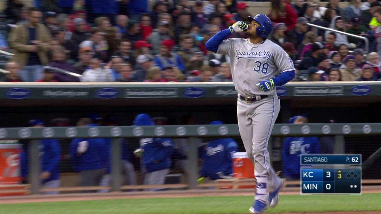 Bonafacio's two-run homer
