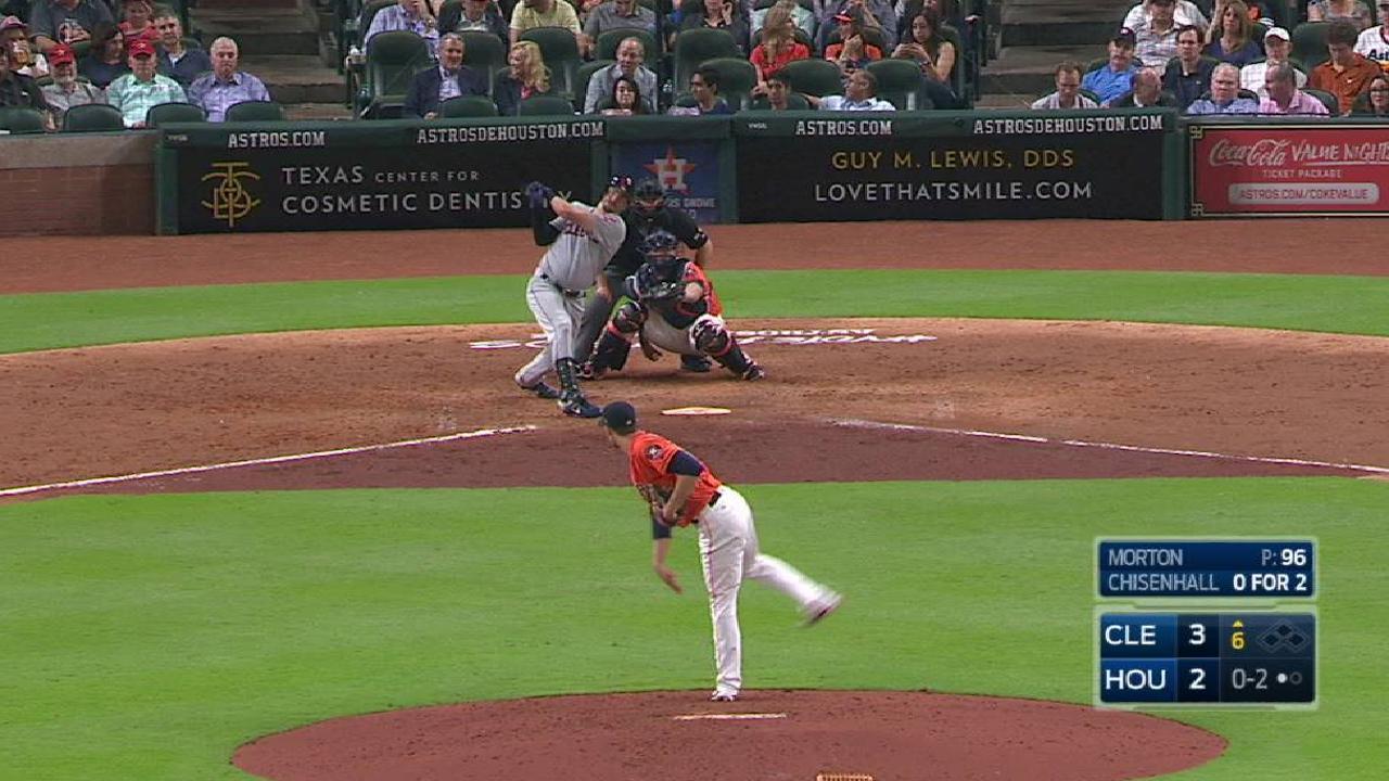Chisenhall's solo home run