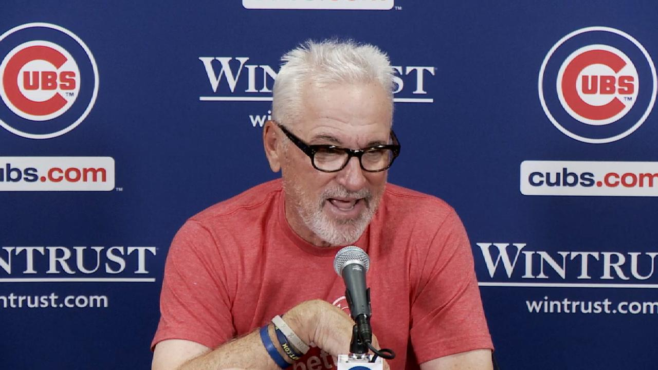 Maddon on loss to Brewers