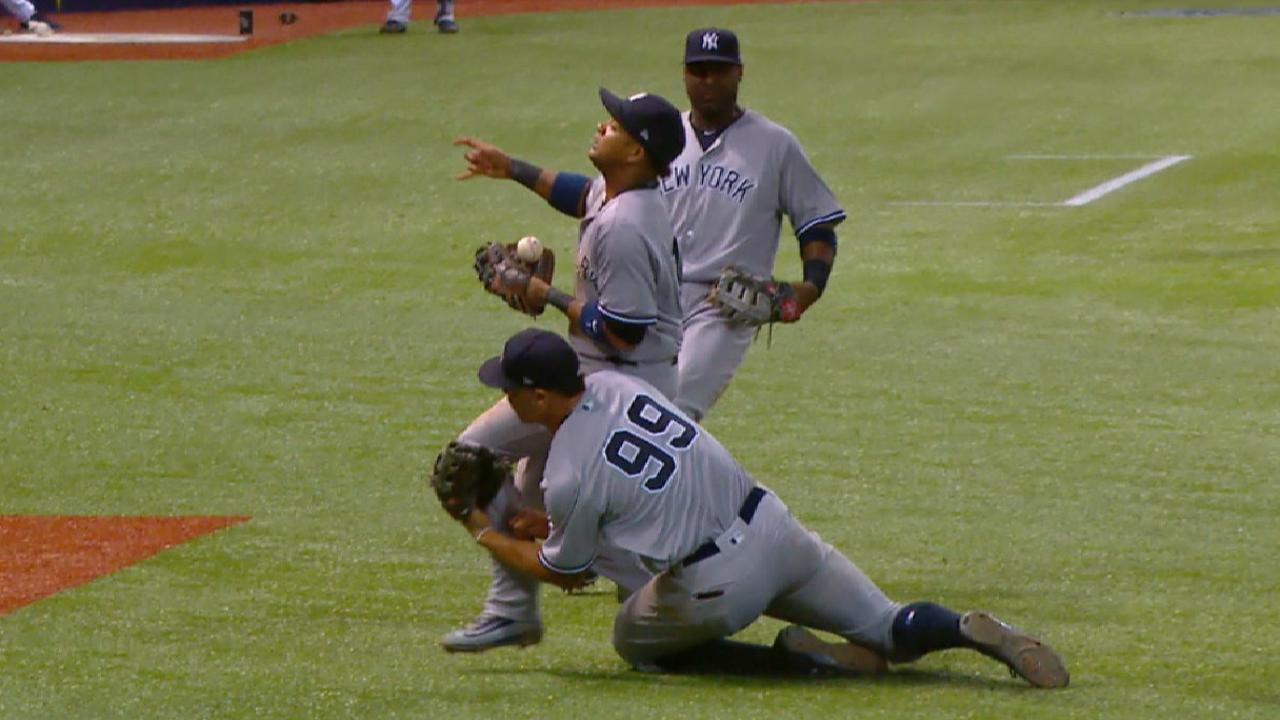 Starlin 'really lucky' after collision with Judge