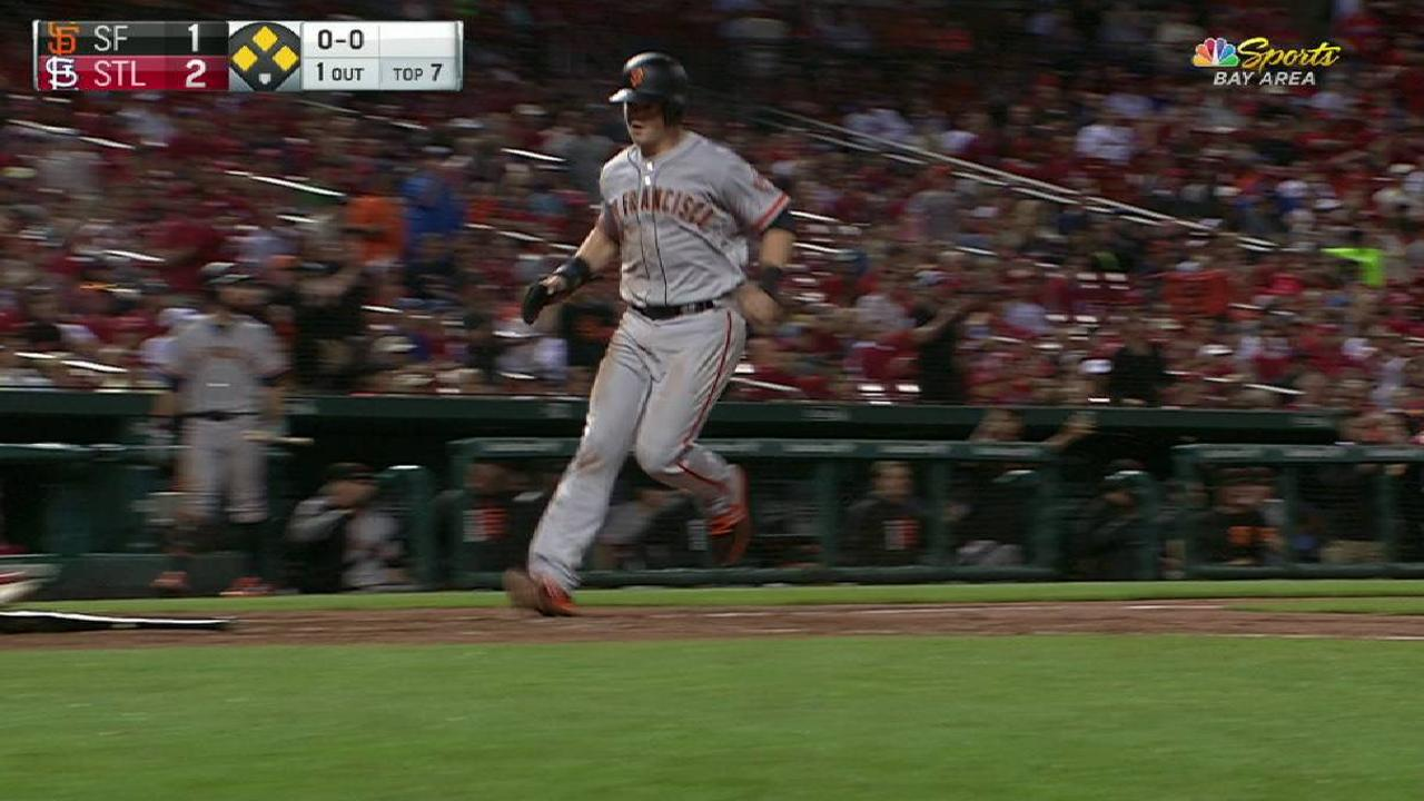 Span's RBI single in the 7th
