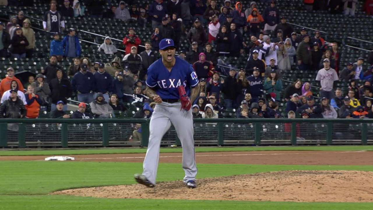 Rangers hoping to give Bush's arm a rest