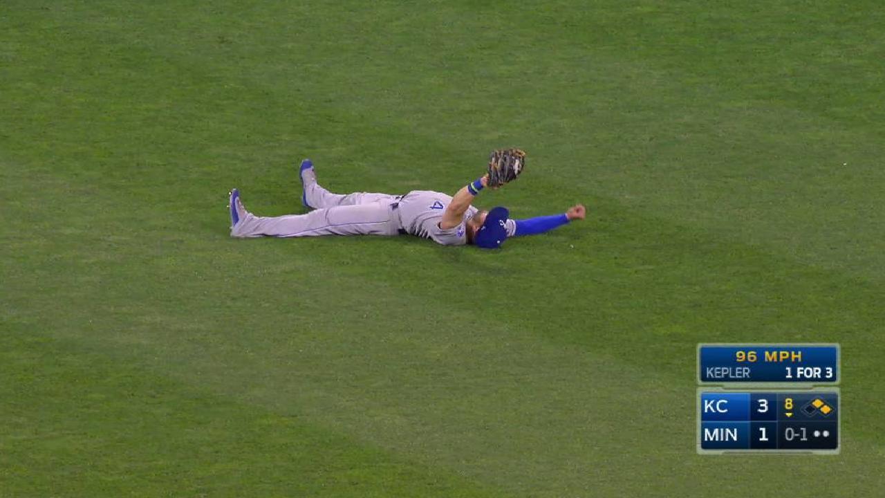 Gordon's great catch
