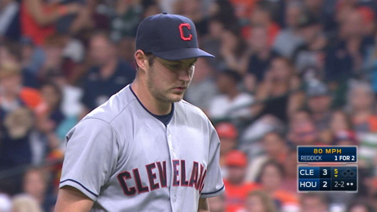 Bauer towers over Astros as Tribe powers up