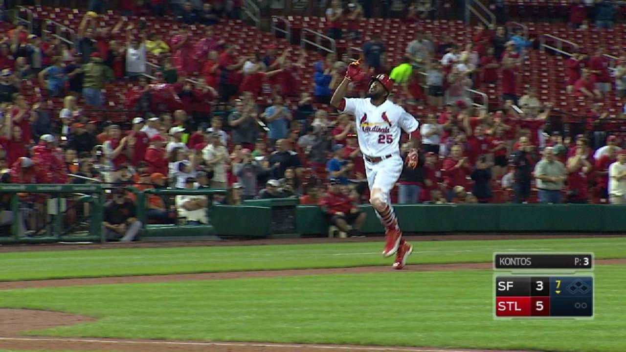 Cardinals can't hold on after Fowler's homer