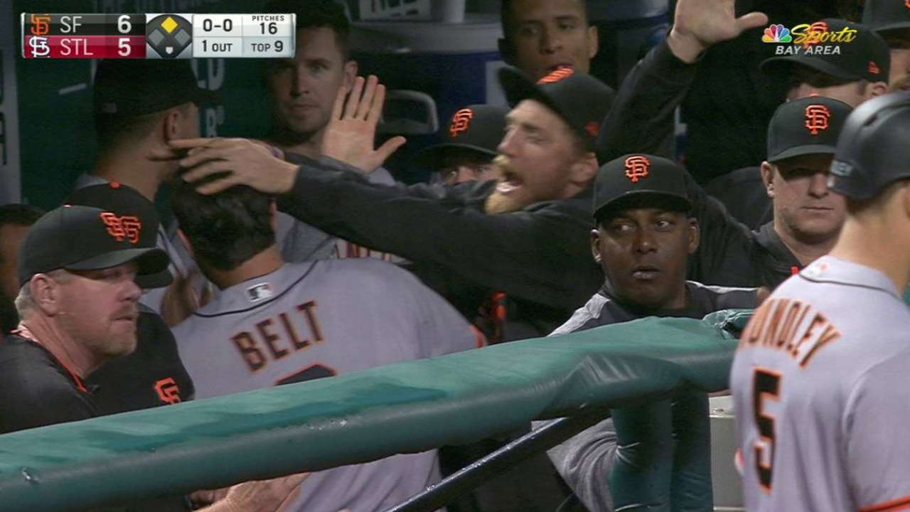 Nunez's go-ahead two-run double