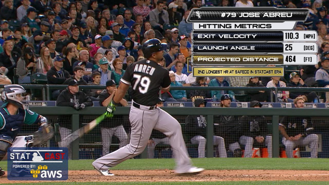 Statcast: Abreu's 464-foot homer