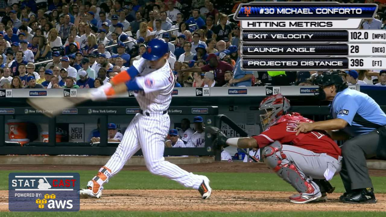 Statcast of the Day: Conforto king of the oppo