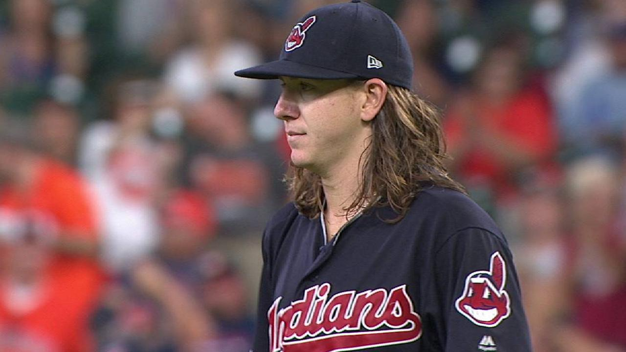 Clevinger gives Tribe glimpse of potential