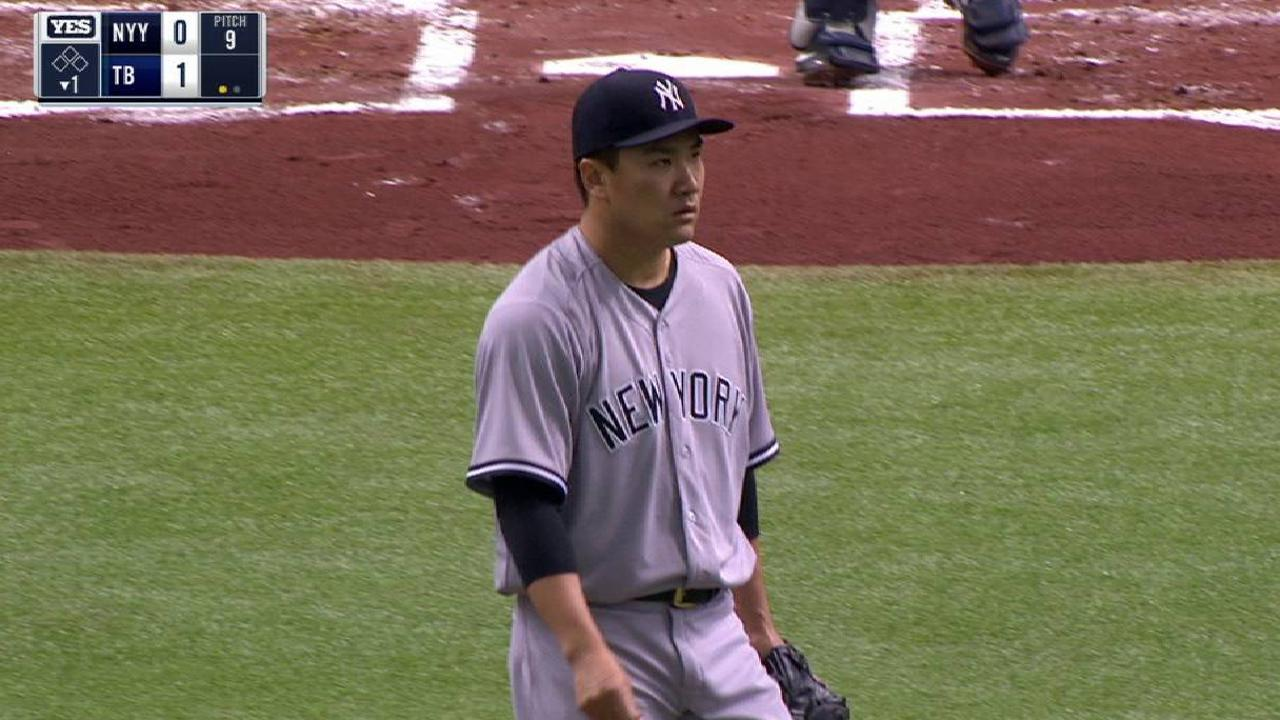 Tanaka healthy, focused on shaking slump