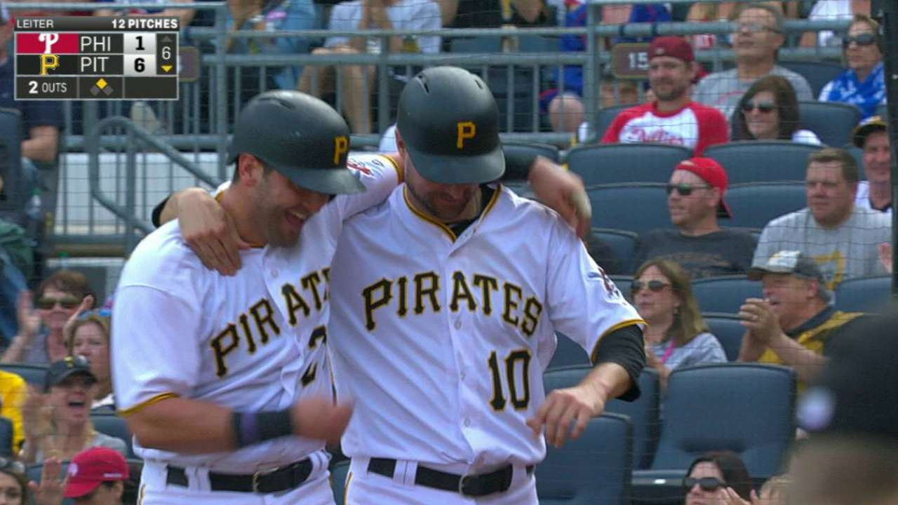Frazier's bat draws high praise from Pirates