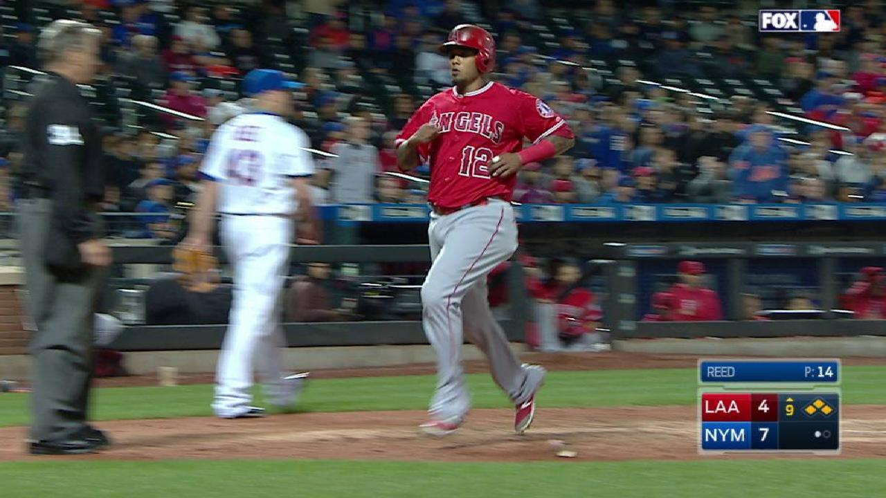 Trout's sacrifice fly