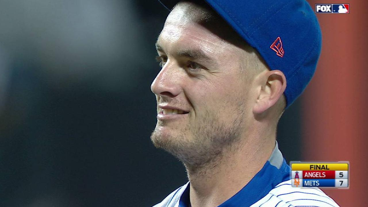 Mets bend, but don't break vs. Trout, Halos