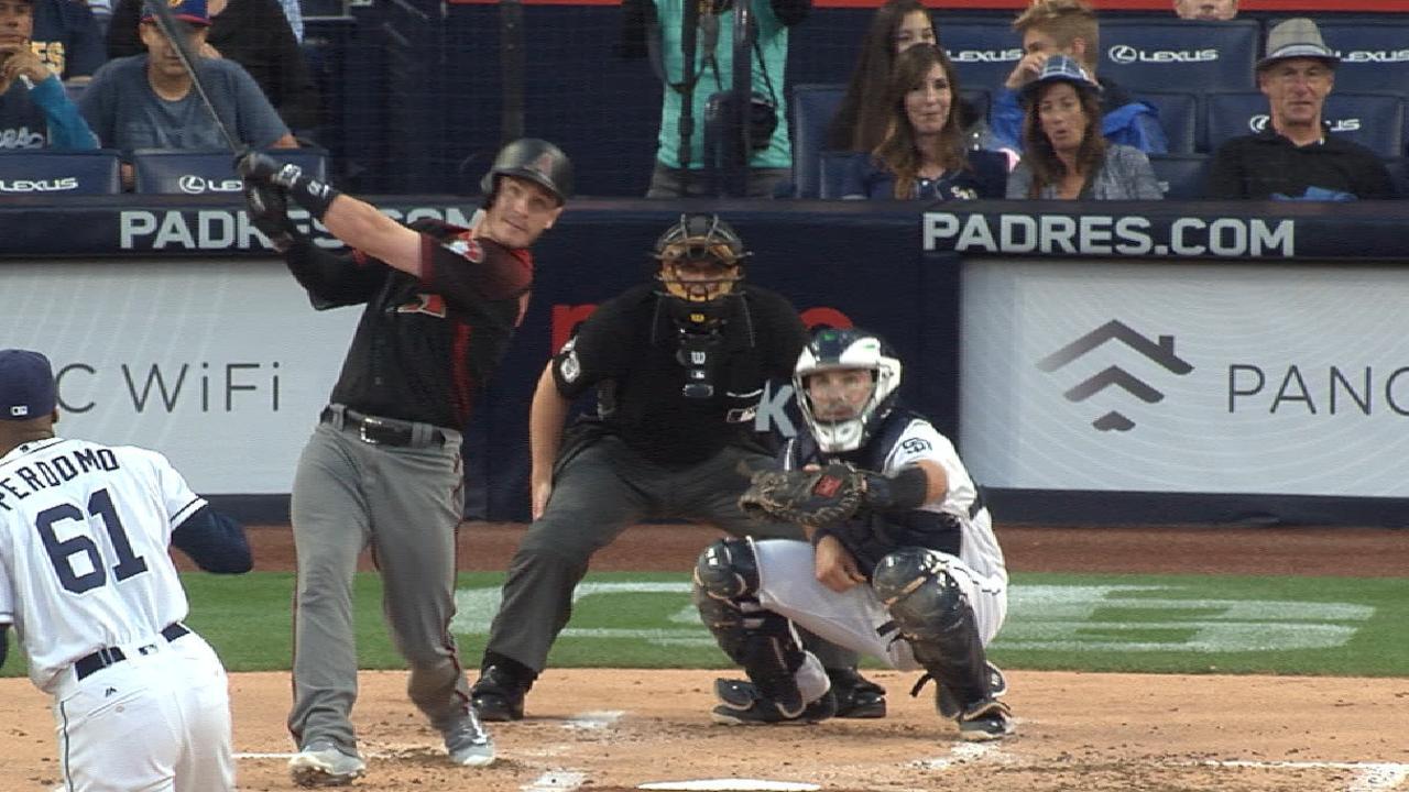 D-backs' five-run first inning