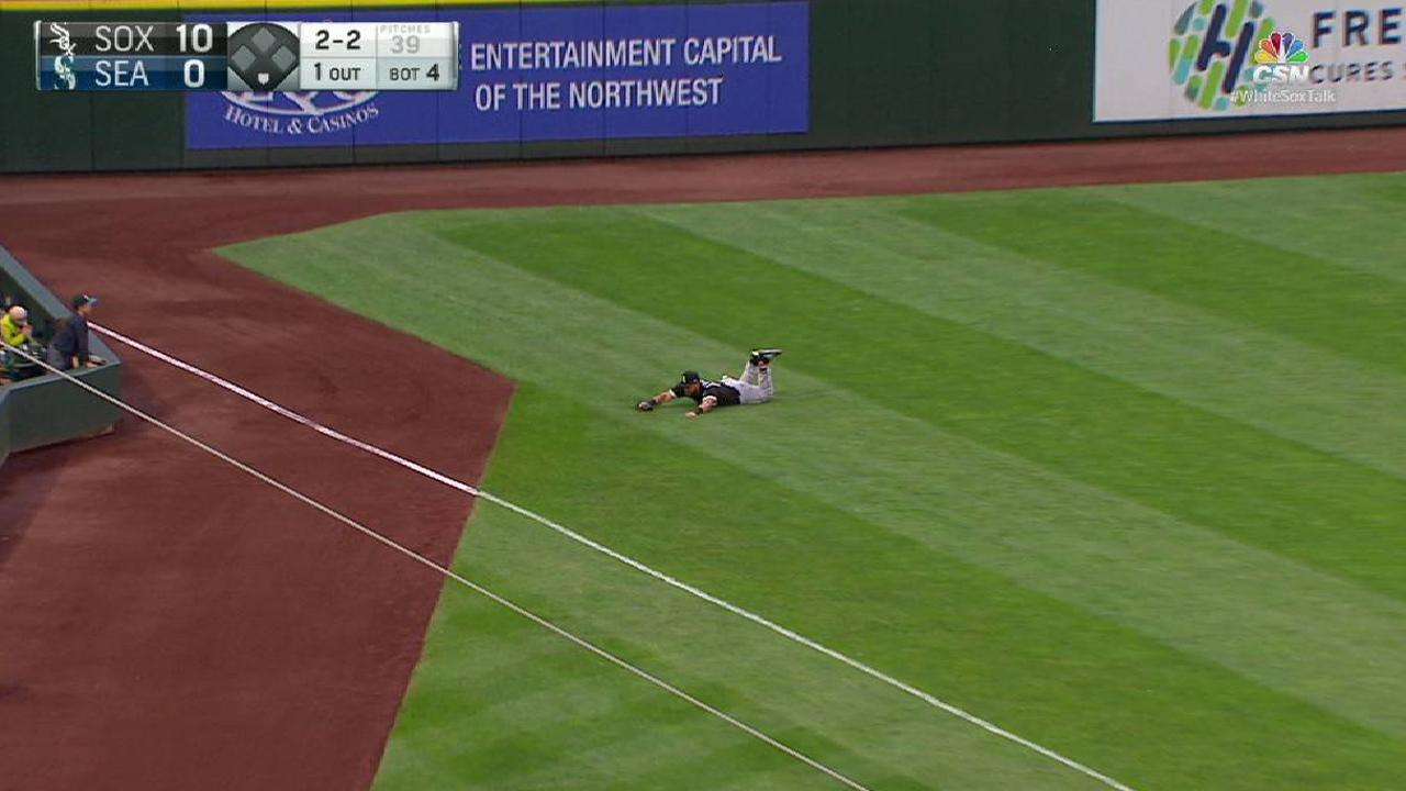 Cabrera's diving catch