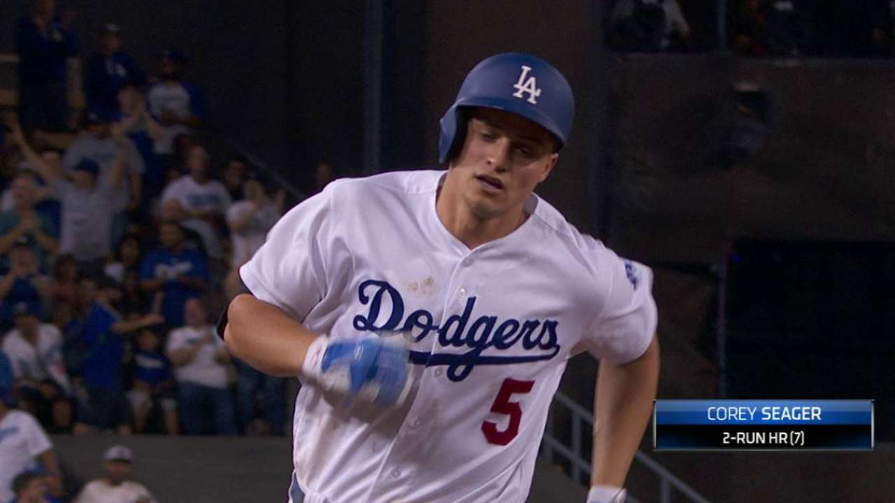 Seager leads NL shortstops on All-Star ballot