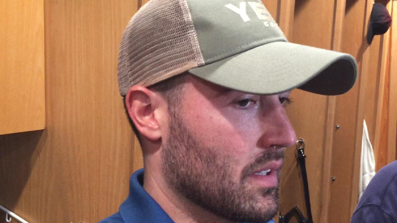 Ray discusses strong outing