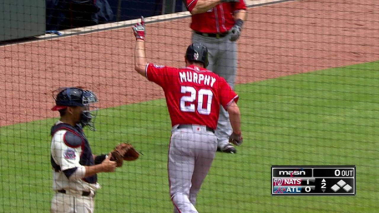 Stras, Murphy lift Nats over Braves