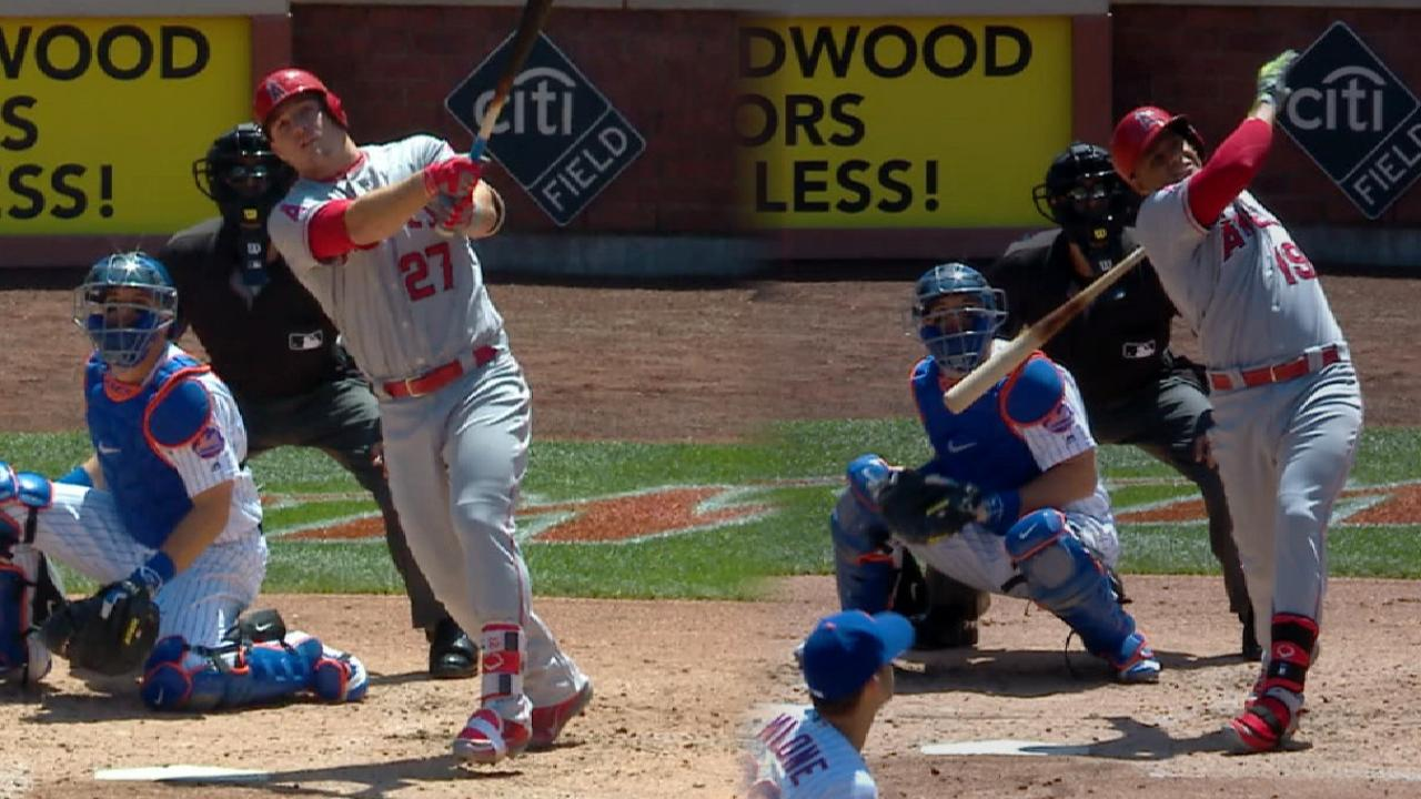 Trout, Marte go back-to-back