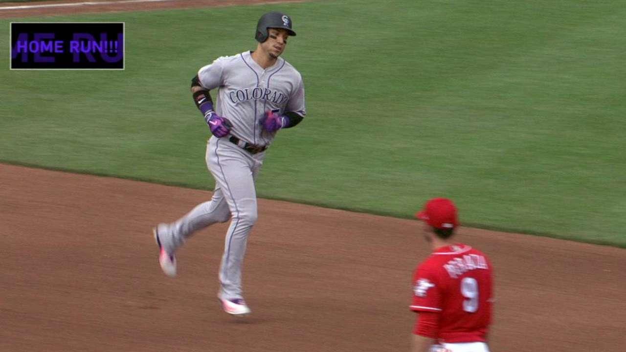 CarGo hits 200th Rockies homer