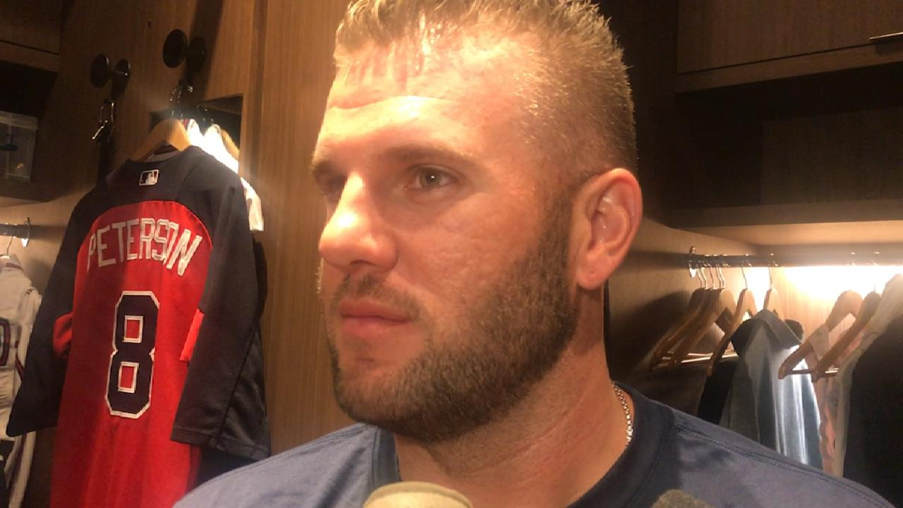 Adams thrilled to fill everyday role for Braves