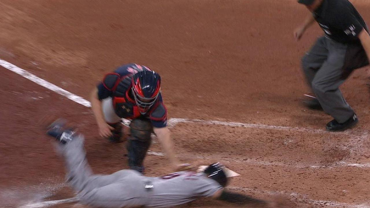 Tolliver nabs Chisenhall at home