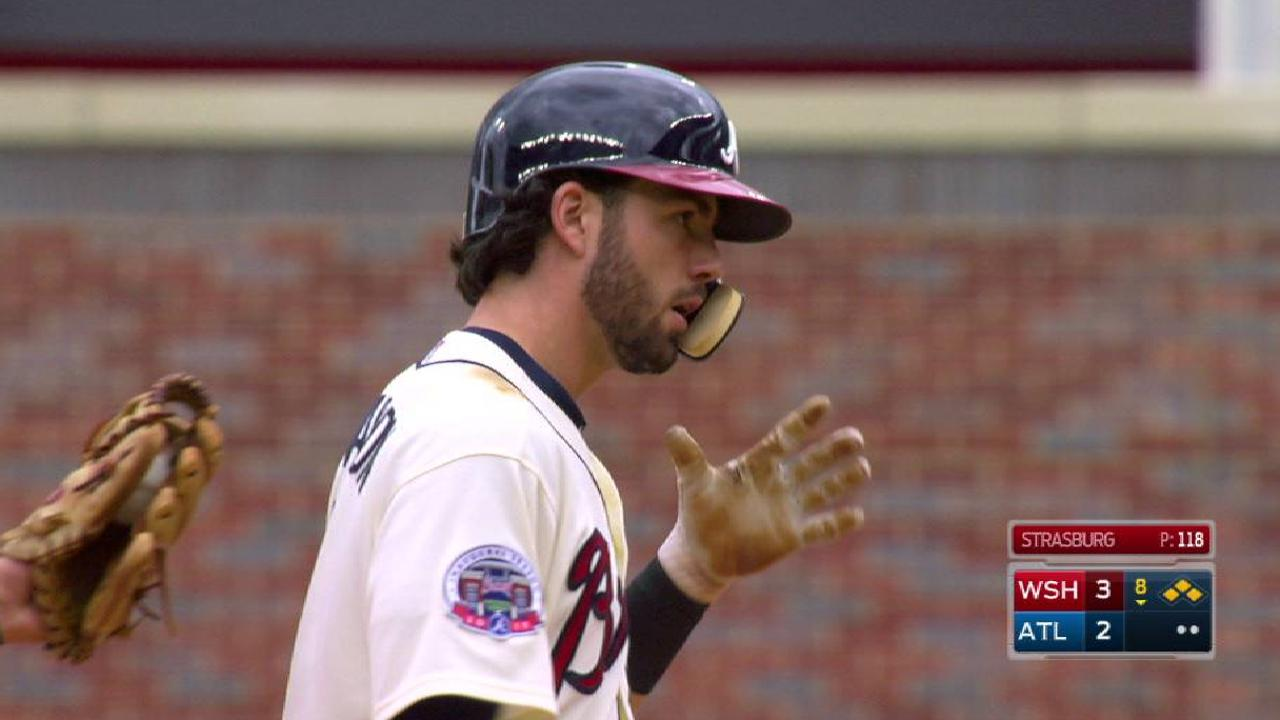 Swanson's double brings in two