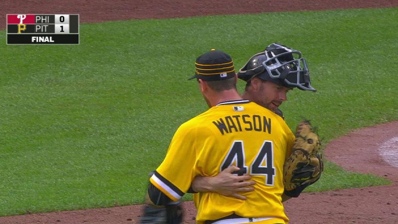 Closer Watson inducing weaker contact in '17