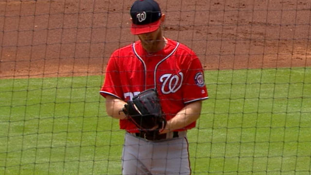 Stras' deep start, 11 K's crucial for Nats