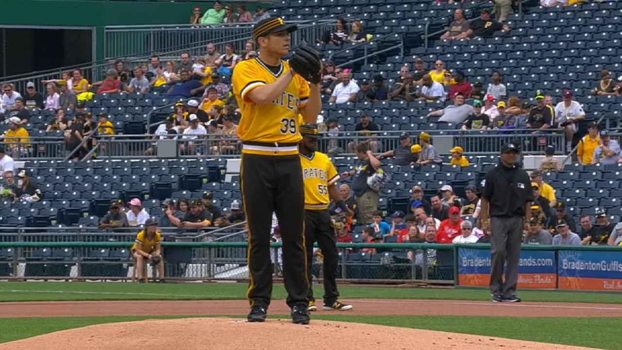 Kuhl returns to form, throws five scoreless