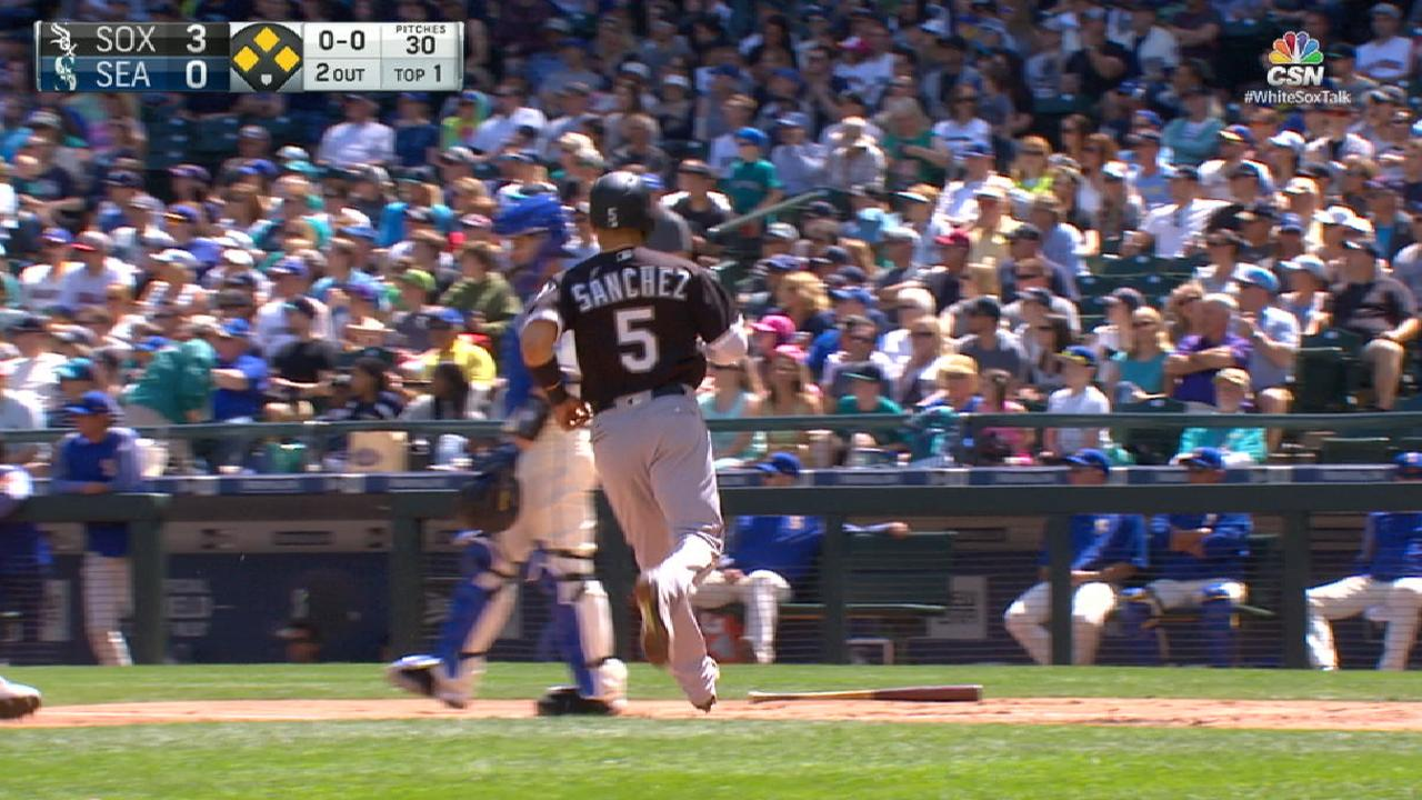 Another fast first: White Sox plate 5 early